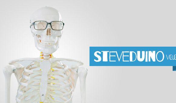 Steveduino - Arduino powered skeleton (Part 1 - PIR triggered LED eyes)