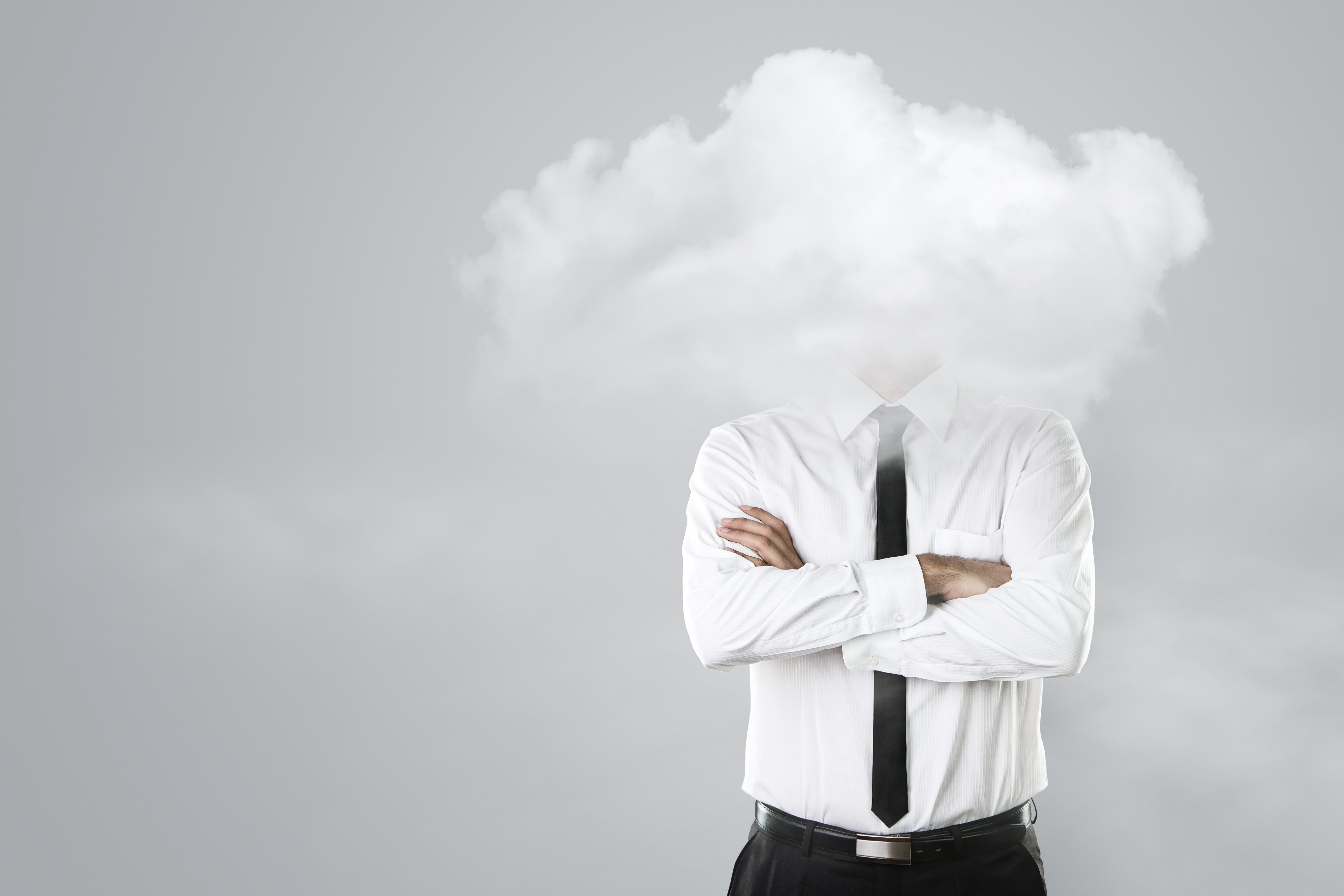 head in the clouds when it comes to cloud hosting?