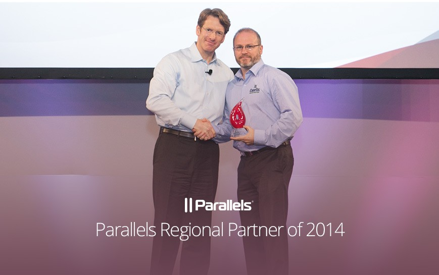 conetix awarded parallels regional partner of the year