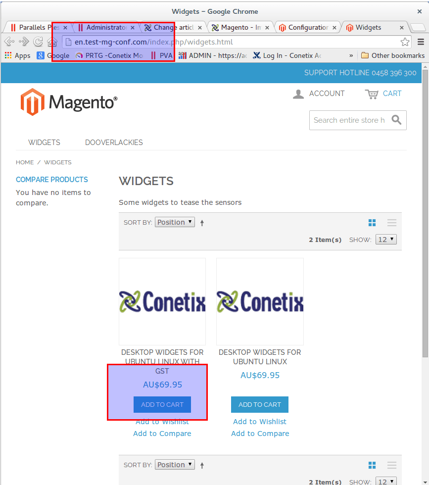 magento - implementing multiple store views