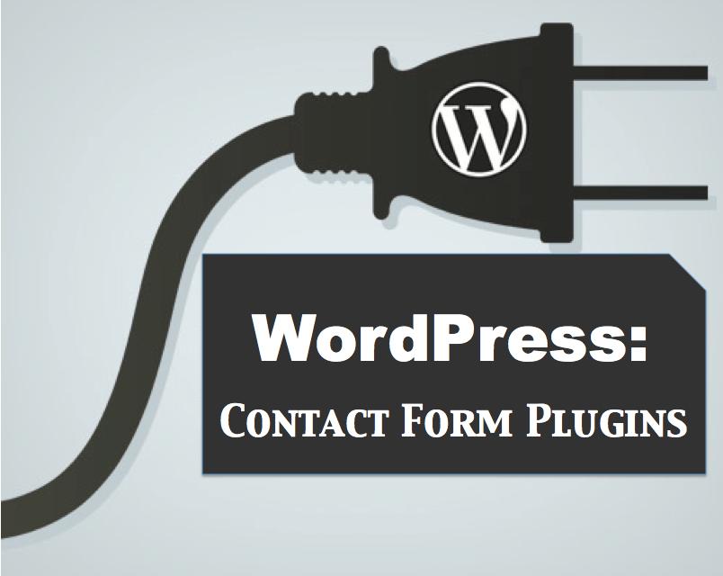 top 4 wordpress contact form plugins