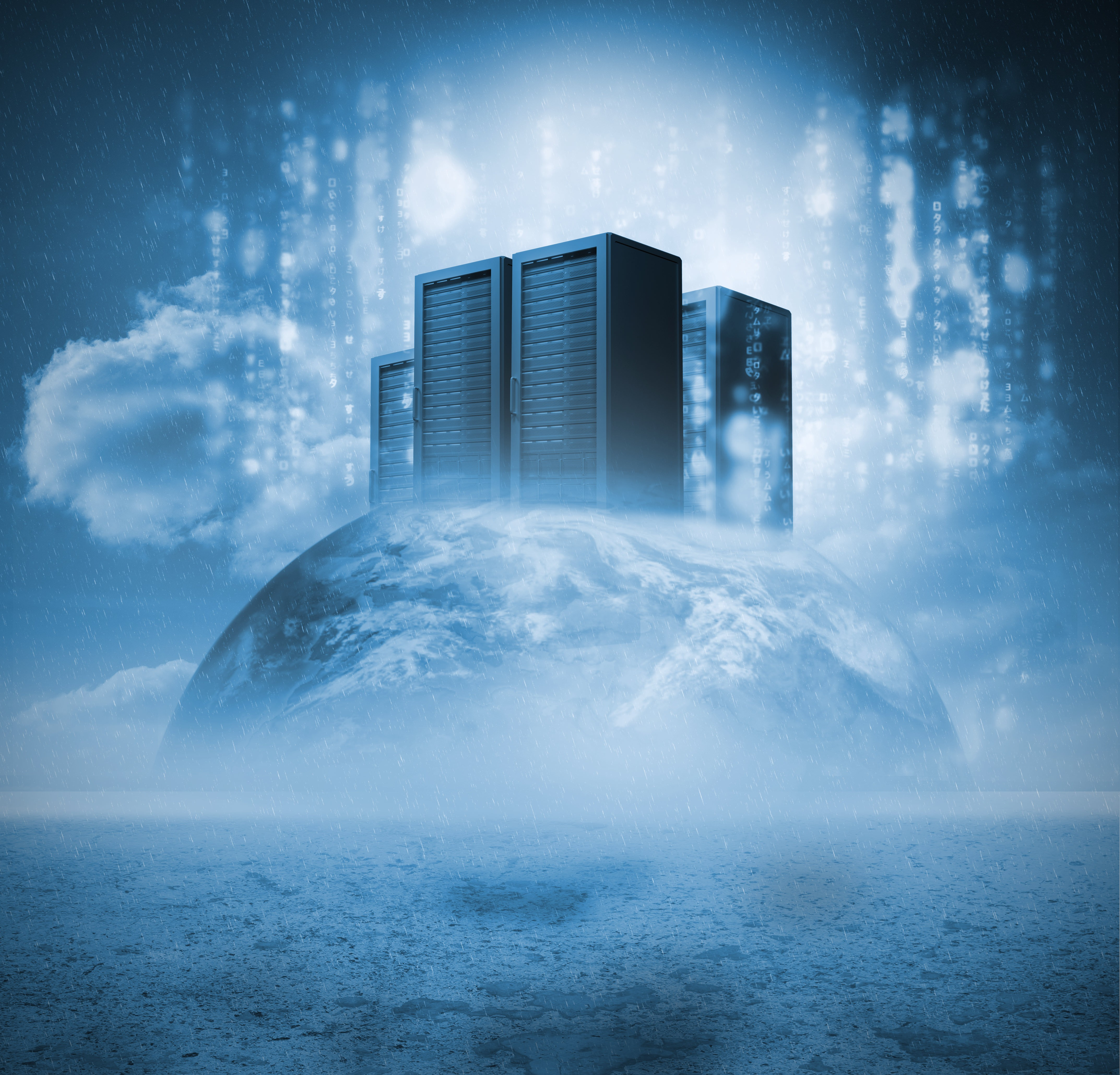 the cloud and container based hosting
