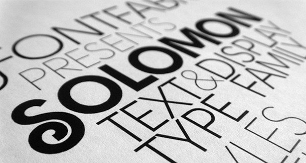web designers' favourite fonts