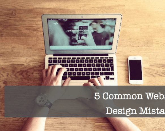 5 Common Website Design Mistakes