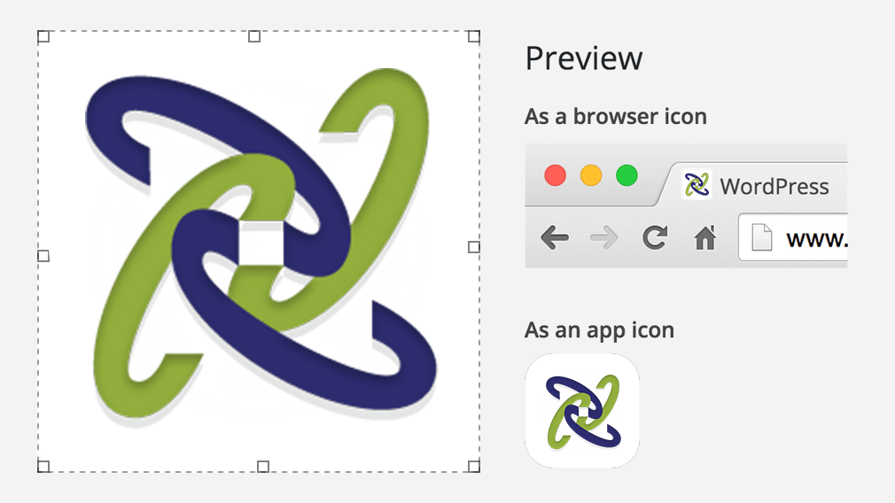 wordpress 4.3 billie icon maker