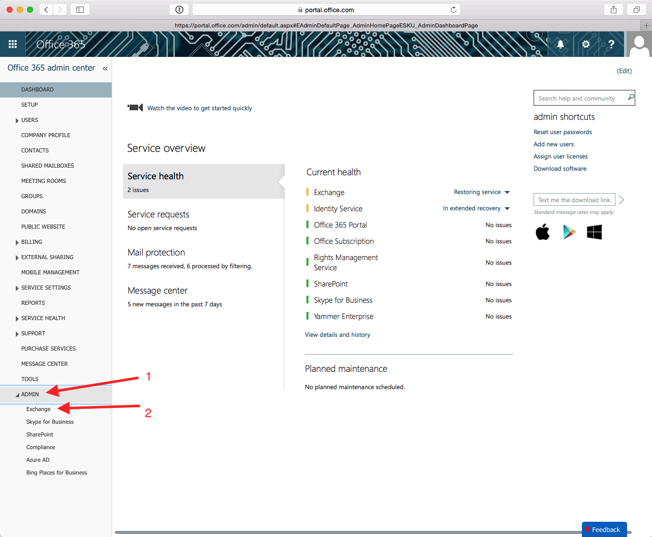 How to setup inbound mail rule for Office 365 from Barracuda