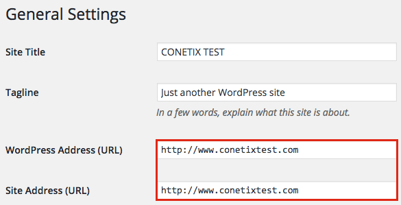 "how to change a site url in wordpress to ""www"""