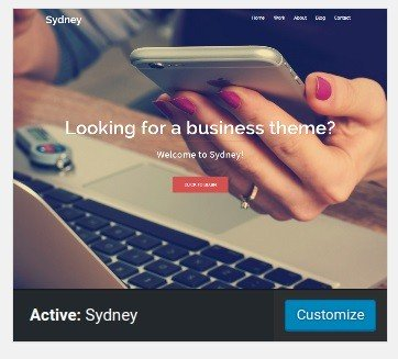 WordPress - Theme - Sydney