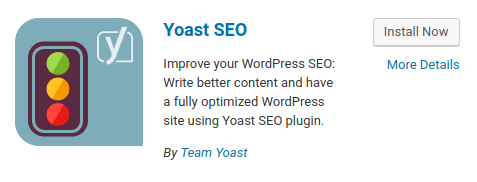 WordPress - Yoast SEO Plugin
