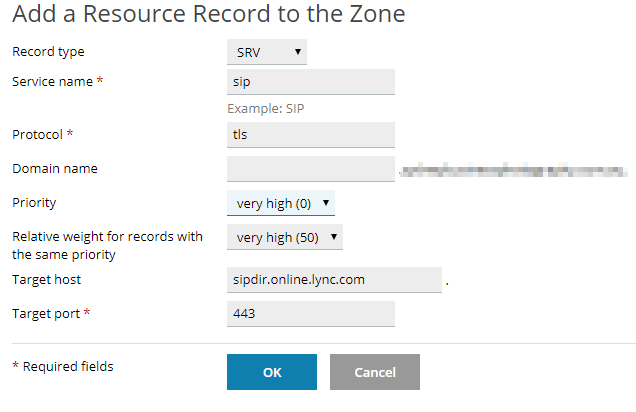 updating your dns records in plesk