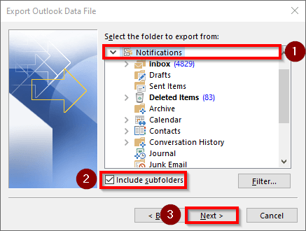Importing and Exporting Outlook Data Files