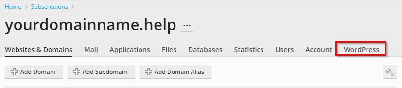wordpress toolkit -enable/disable maintenance mode