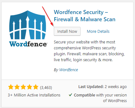 installing and configuring wordfence