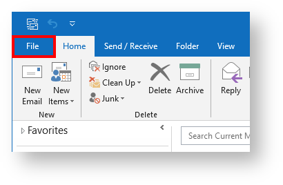 setup your office 365 mailbox in outlook