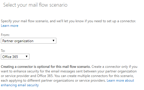 Adding a Connector to Microsoft 365 for Conetix Spam Filter