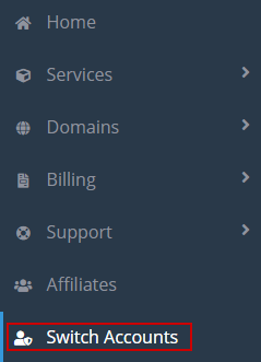 accessing client hosting accounts