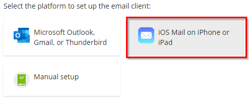 automatically configuring emails on apple devices
