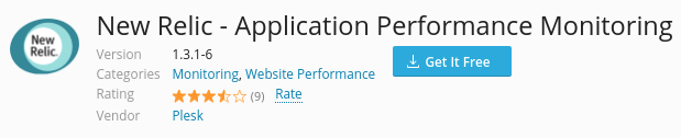 installing new relic on a plesk server