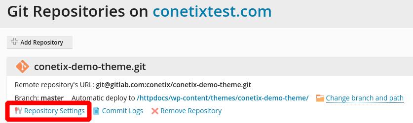 automatic git deployments via gitlab to plesk based hosting