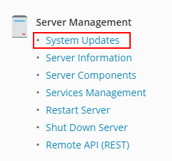 how to enable automatic plesk updates