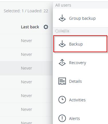 how to setup microsoft 365 backups in acronis backup cloud
