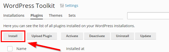 mass plugin actions with wordpress toolkit