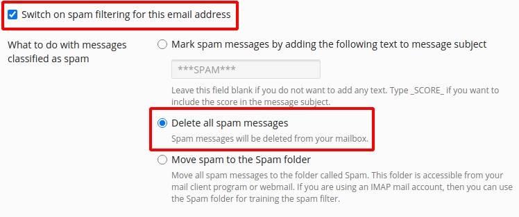 issues with forwarding email to external services