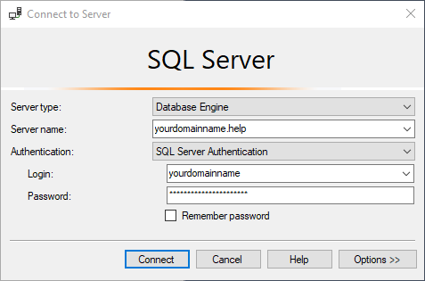 accessing mssql databases remotely